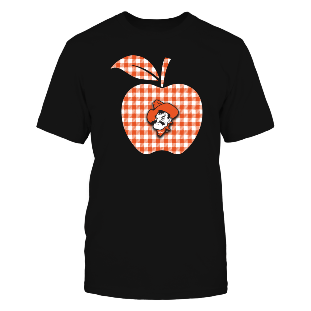 Oklahoma State Cowboys - Teacher - Checkered Apple - IF17-IC17-DS37 Front picture