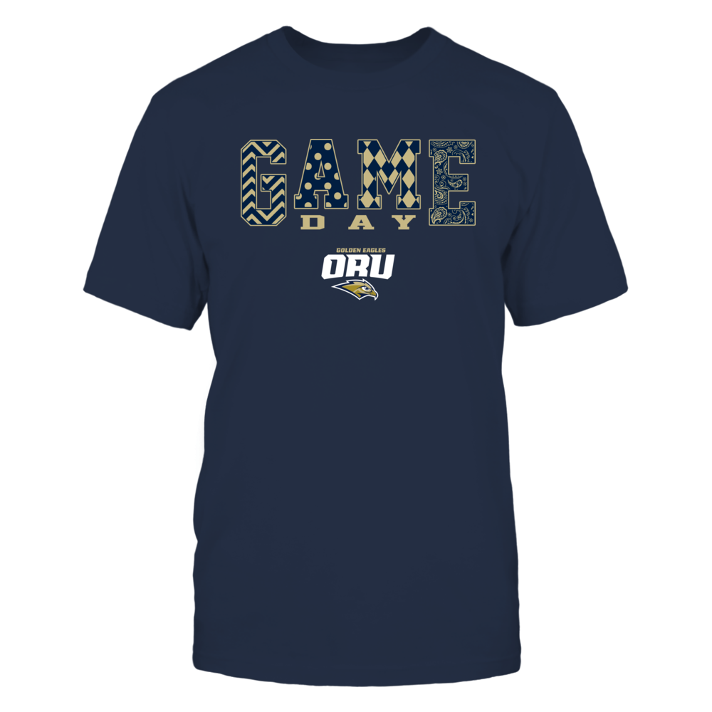 Oral Roberts Golden Eagles - Game Day Pattern Front picture