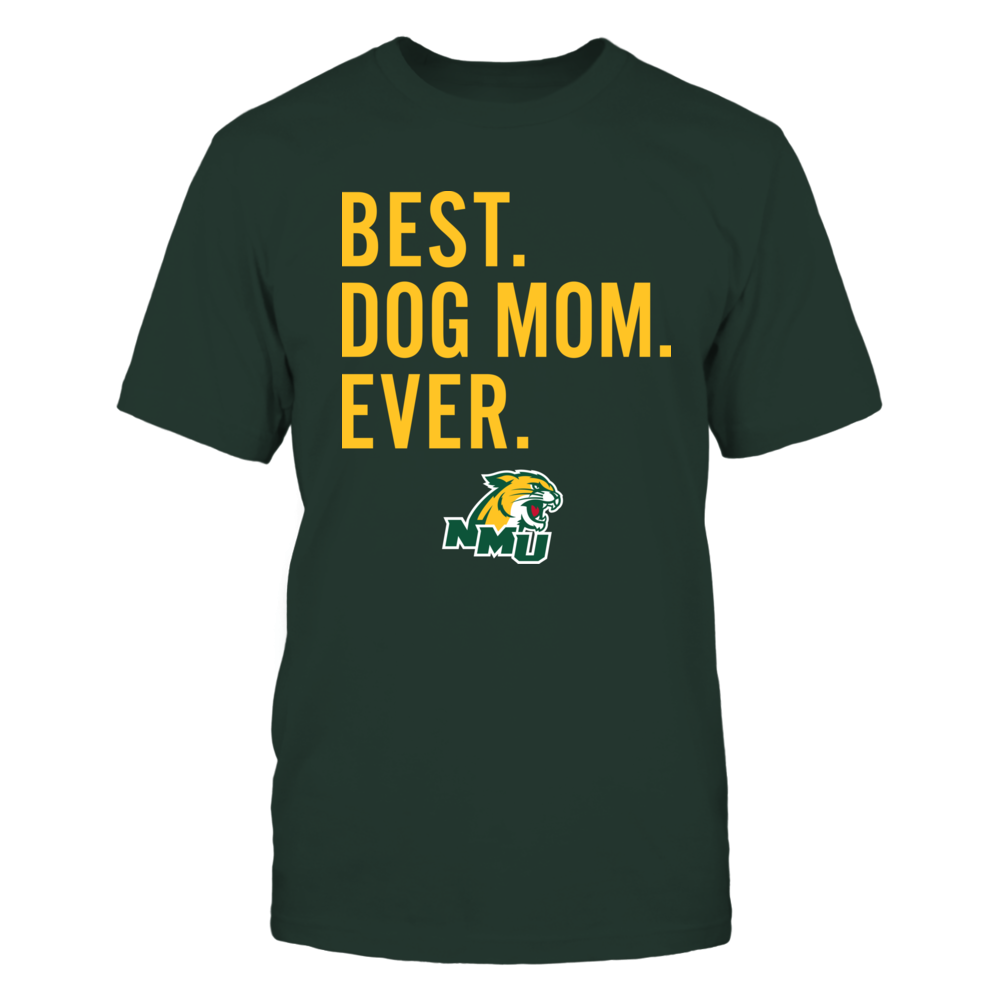 Northern Michigan Wildcats - Best Dog Mom - Team Front picture