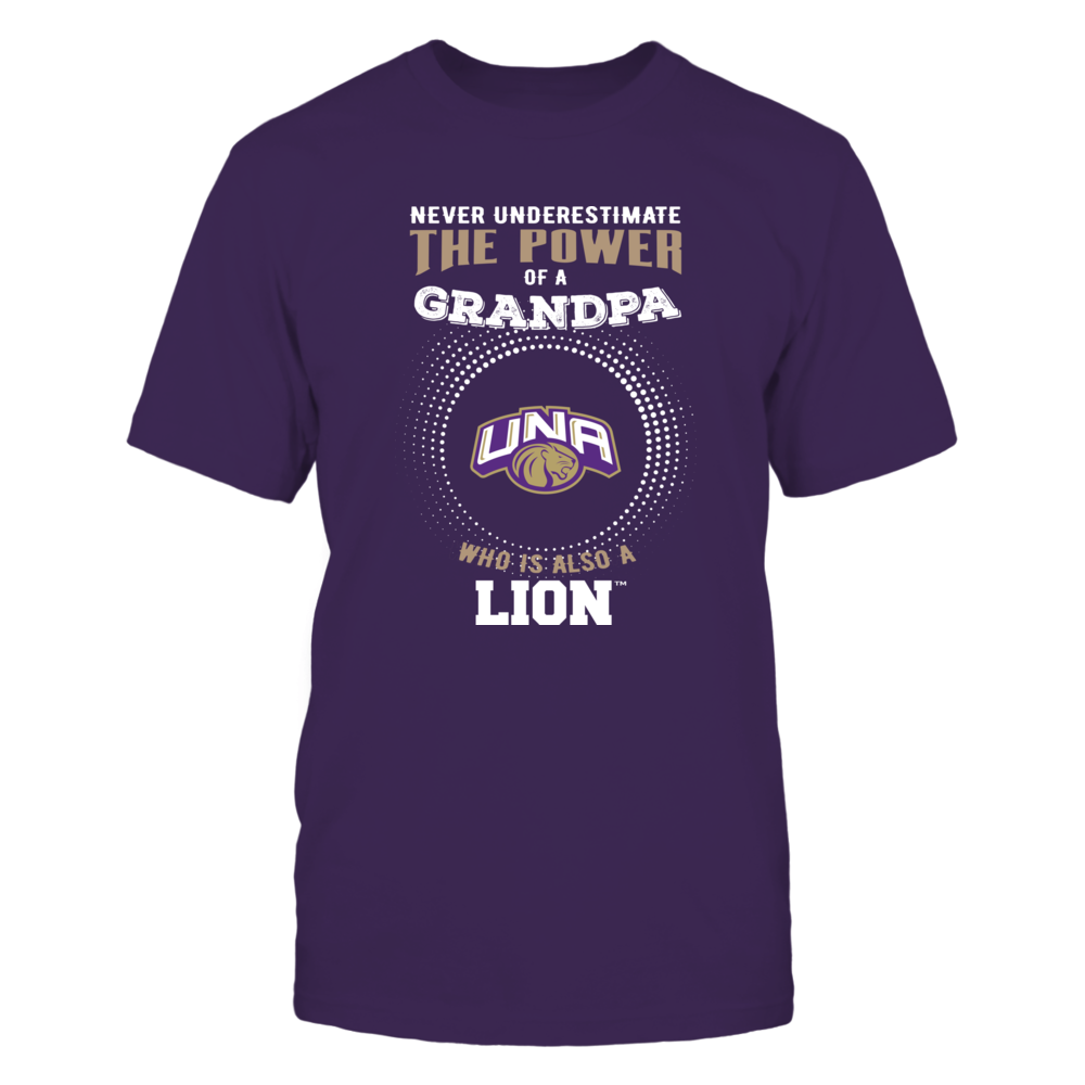 North Alabama Lions - Never Underestimate - Power of Grandpa Front picture