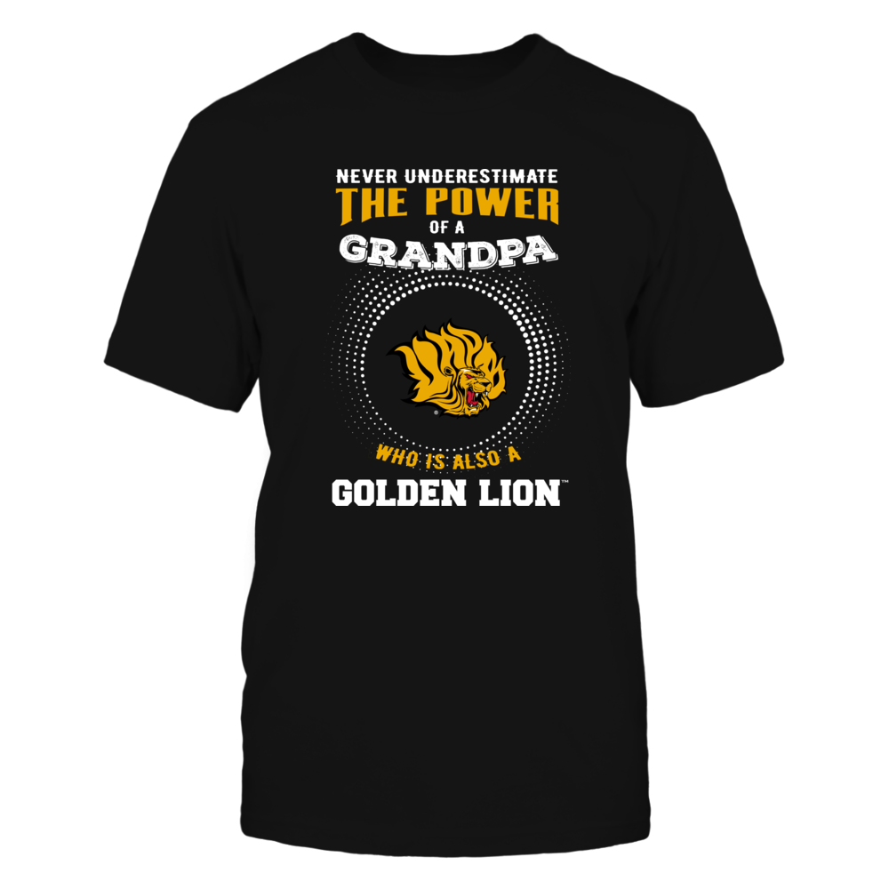 Arkansas Pine Bluff Golden Lions - Never Underestimate - Power of Grandpa Front picture