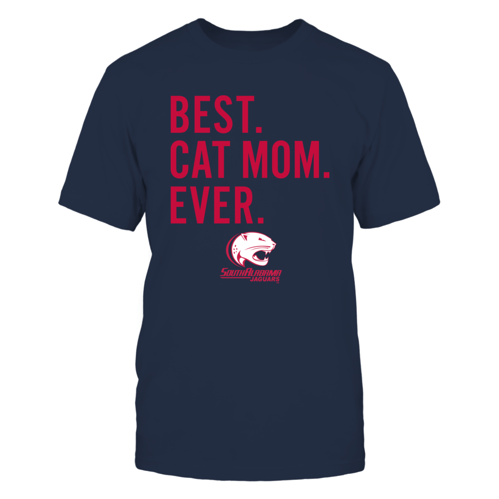 South Alabama Jaguars - Best Cat Mom - Team Front picture