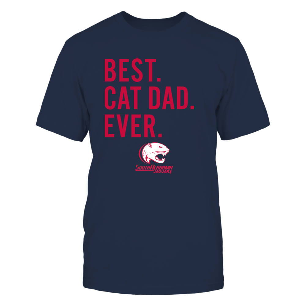 South Alabama Jaguars - Best Cat Dad - Team Front picture