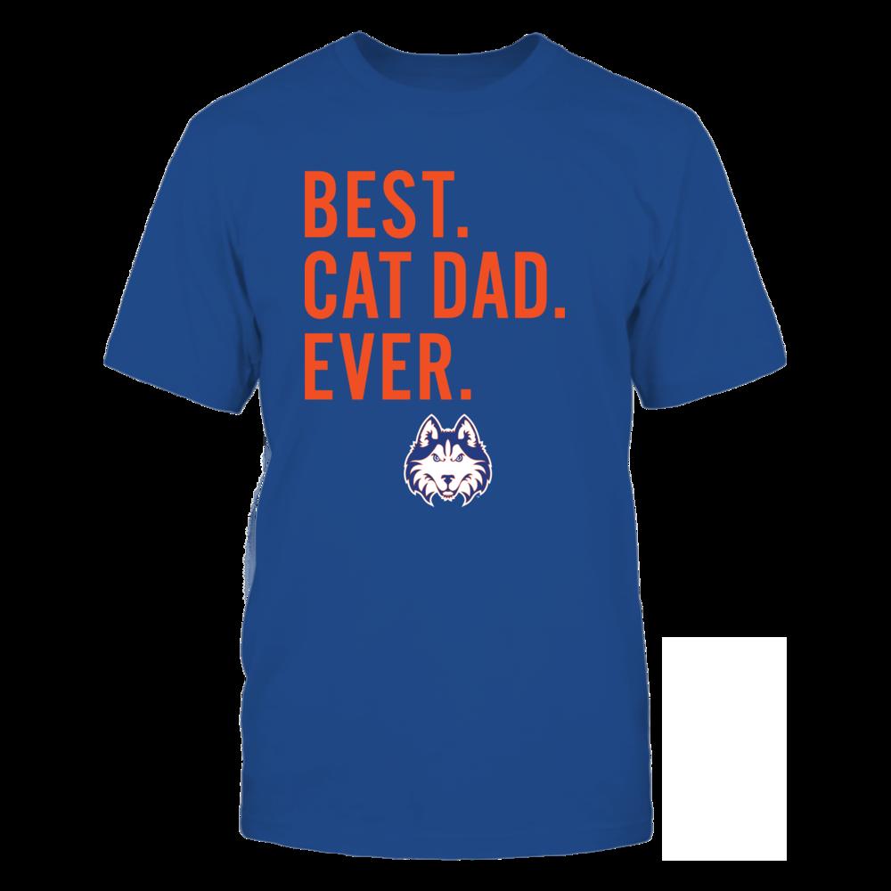 Houston Baptist Huskies - Best Cat Dad - Team Front picture