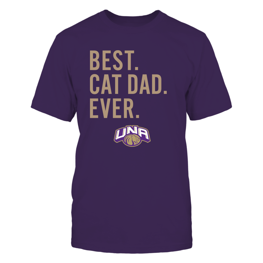 North Alabama Lions - Best Cat Dad - Team Front picture