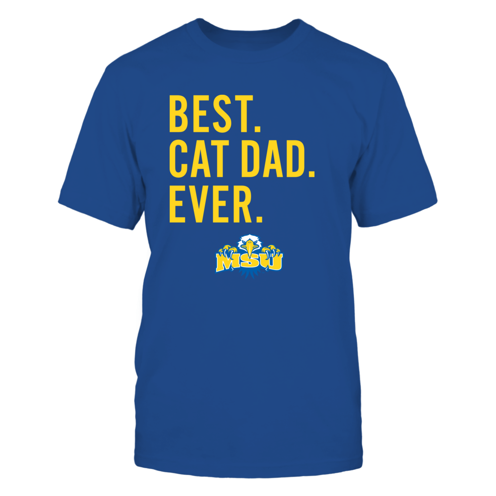 Morehead State Eagles - Best Cat Dad - Team Front picture