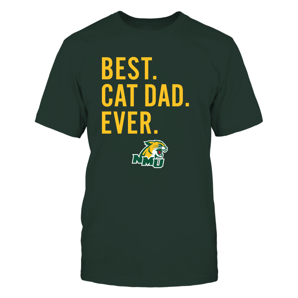 Northern Michigan Wildcats - Best Cat Dad - Team Front picture