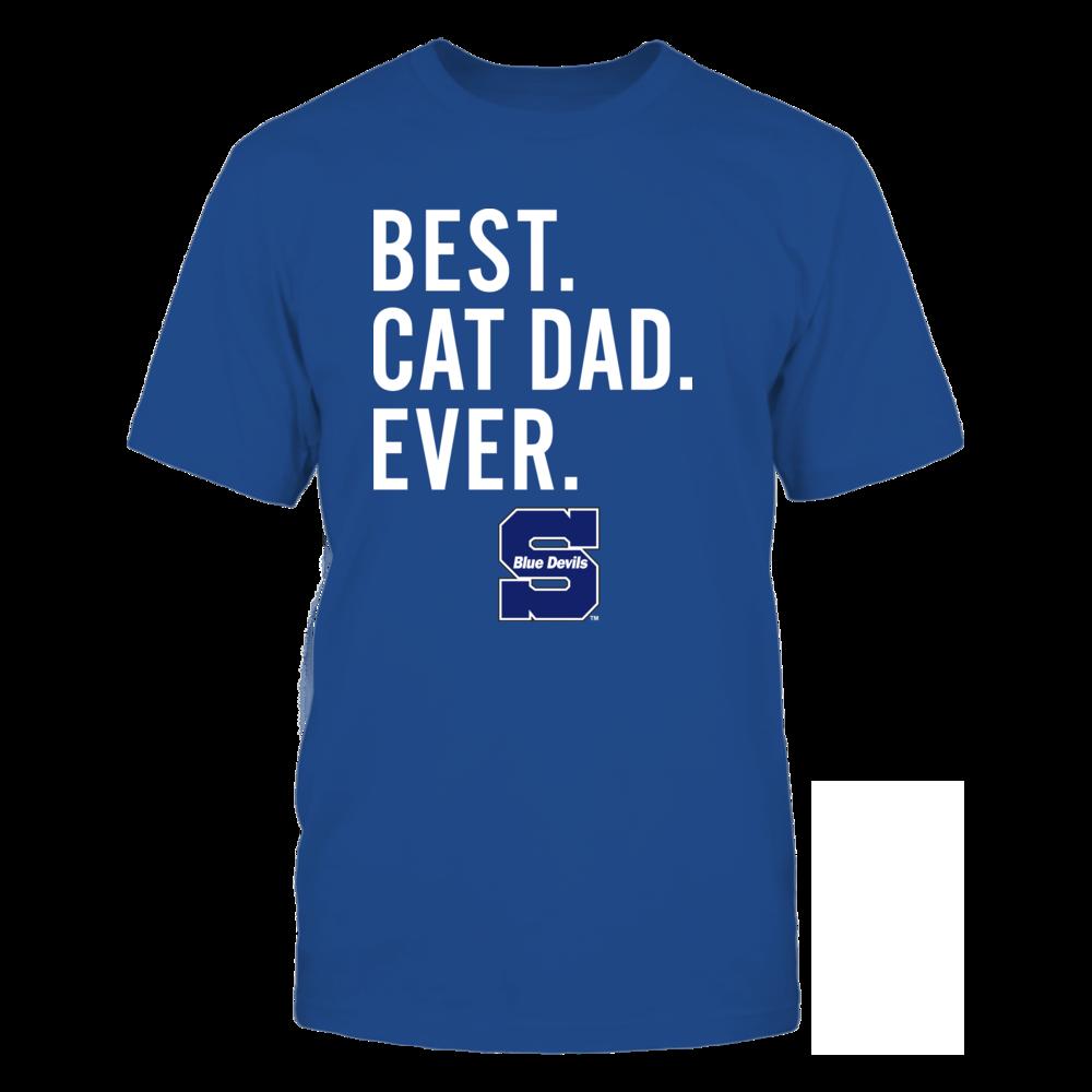 Wisconsin Stout Blue Devils - Best Cat Dad - Team Front picture