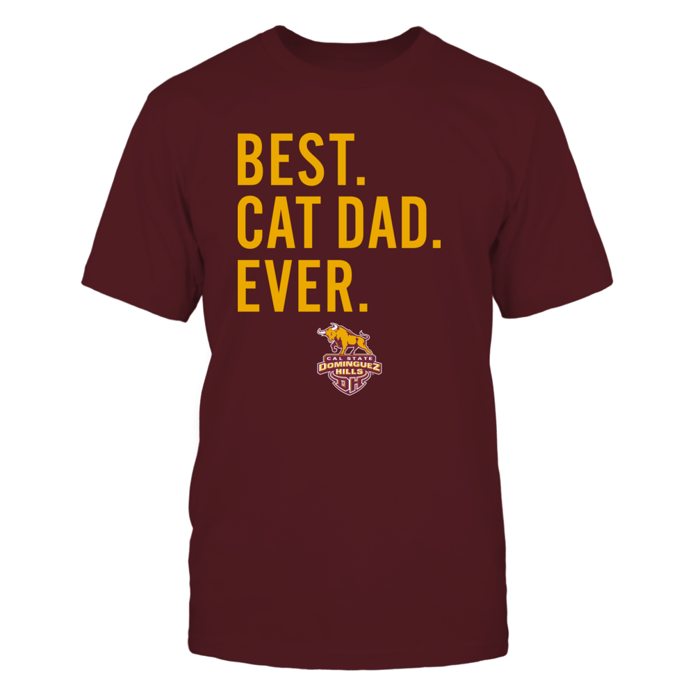 Cal State Dominguez Hills Toros - Best Cat Dad - Team Front picture