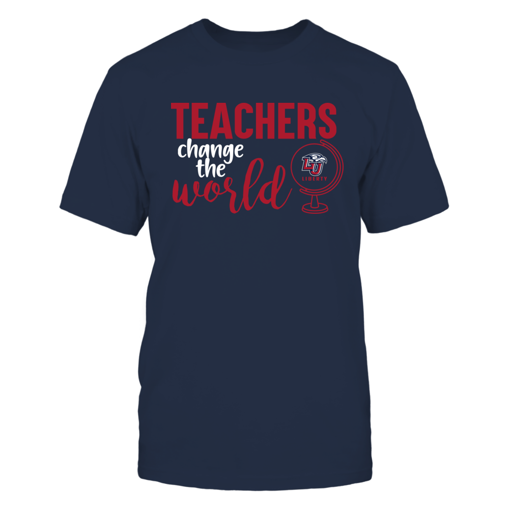 Liberty Flames - Teachers Change the World Front picture