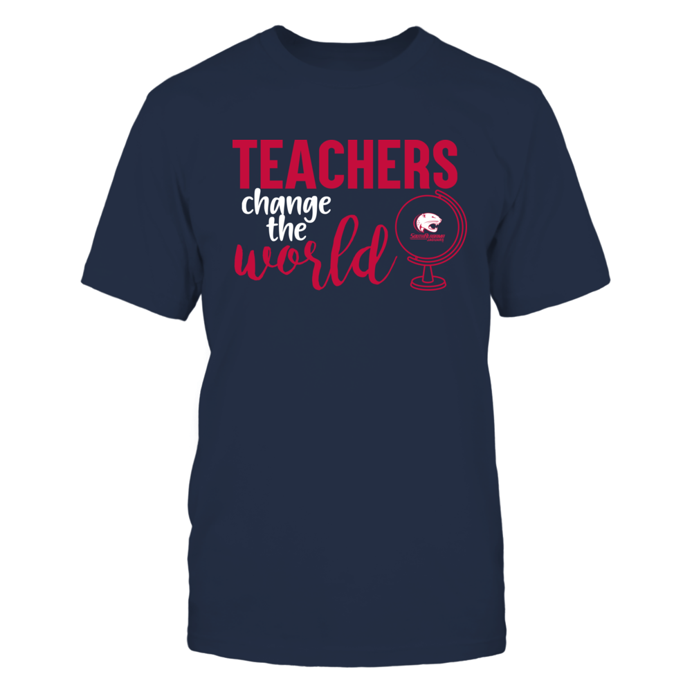 South Alabama Jaguars - Teachers Change the World Front picture