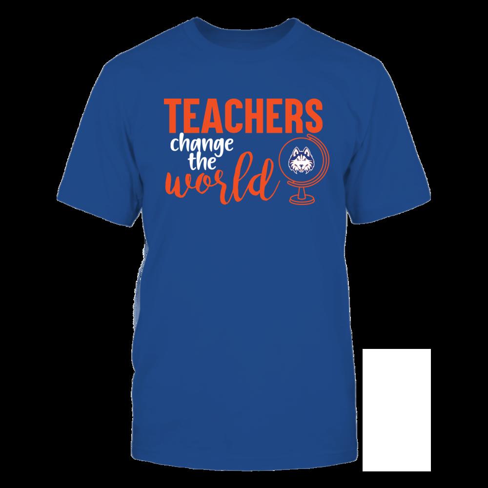 Houston Baptist Huskies - Teachers Change the World Front picture