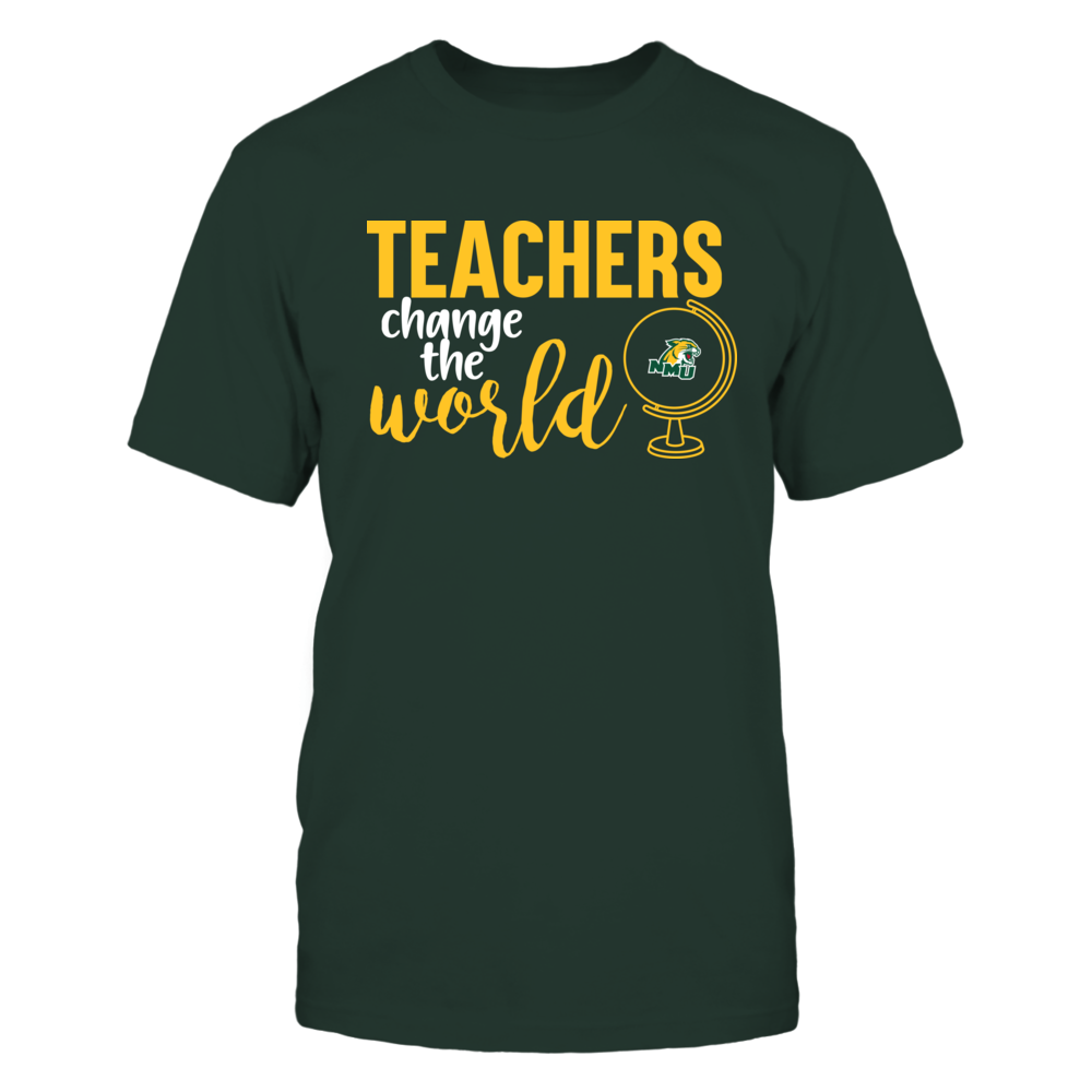Northern Michigan Wildcats - Teachers Change the World Front picture