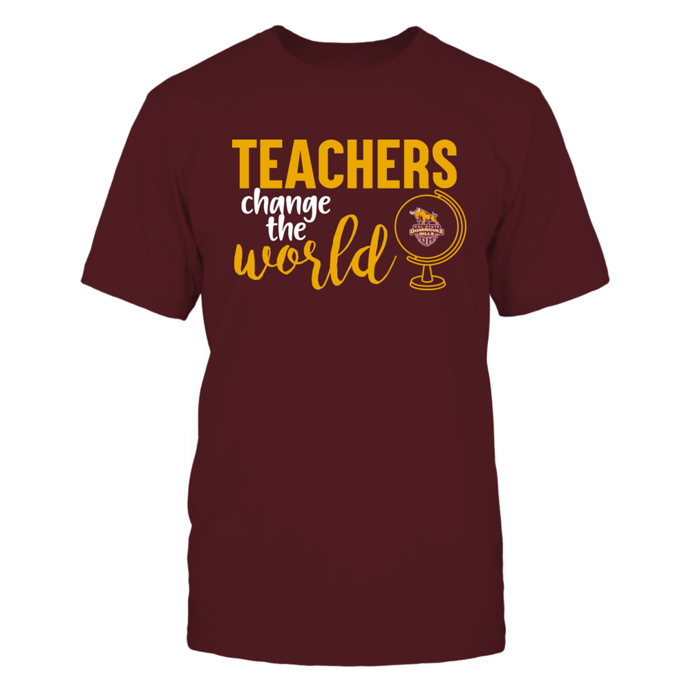 Cal State Dominguez Hills Toros - Teachers Change the World Front picture