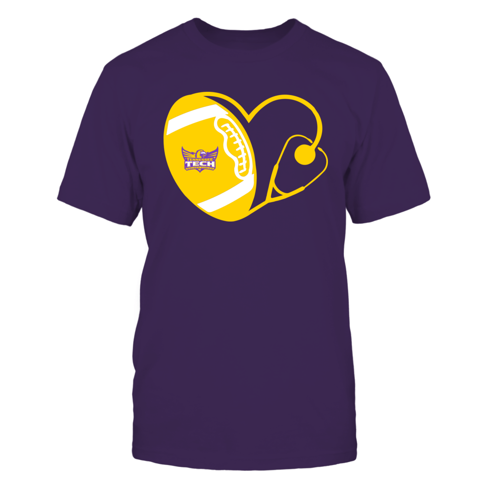 Tennessee Tech Golden Eagles - Nurse - Heart of Football Front picture