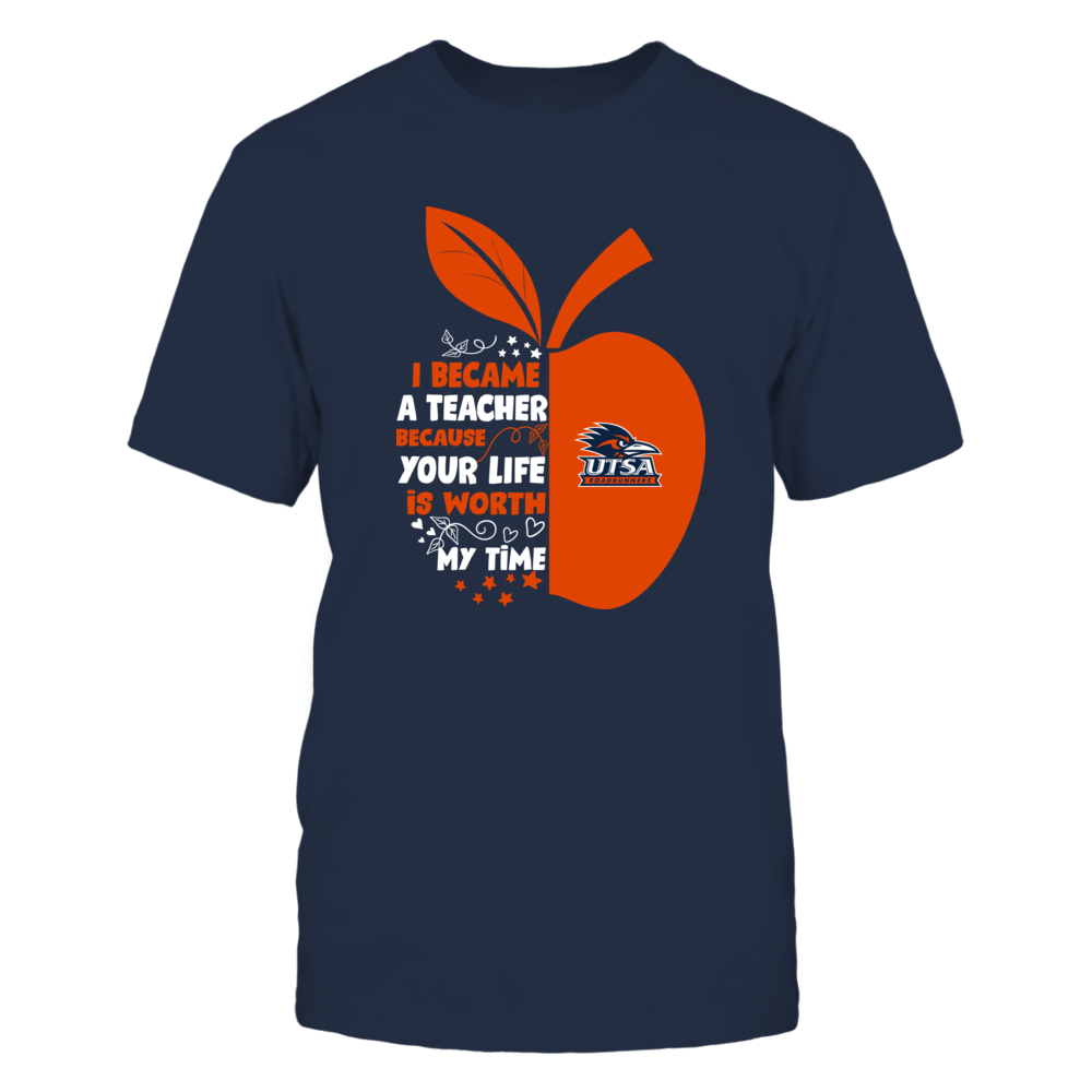 UTSA Roadrunners - I Became - Teacher - Team  - IF-IC32-DS83 Front picture