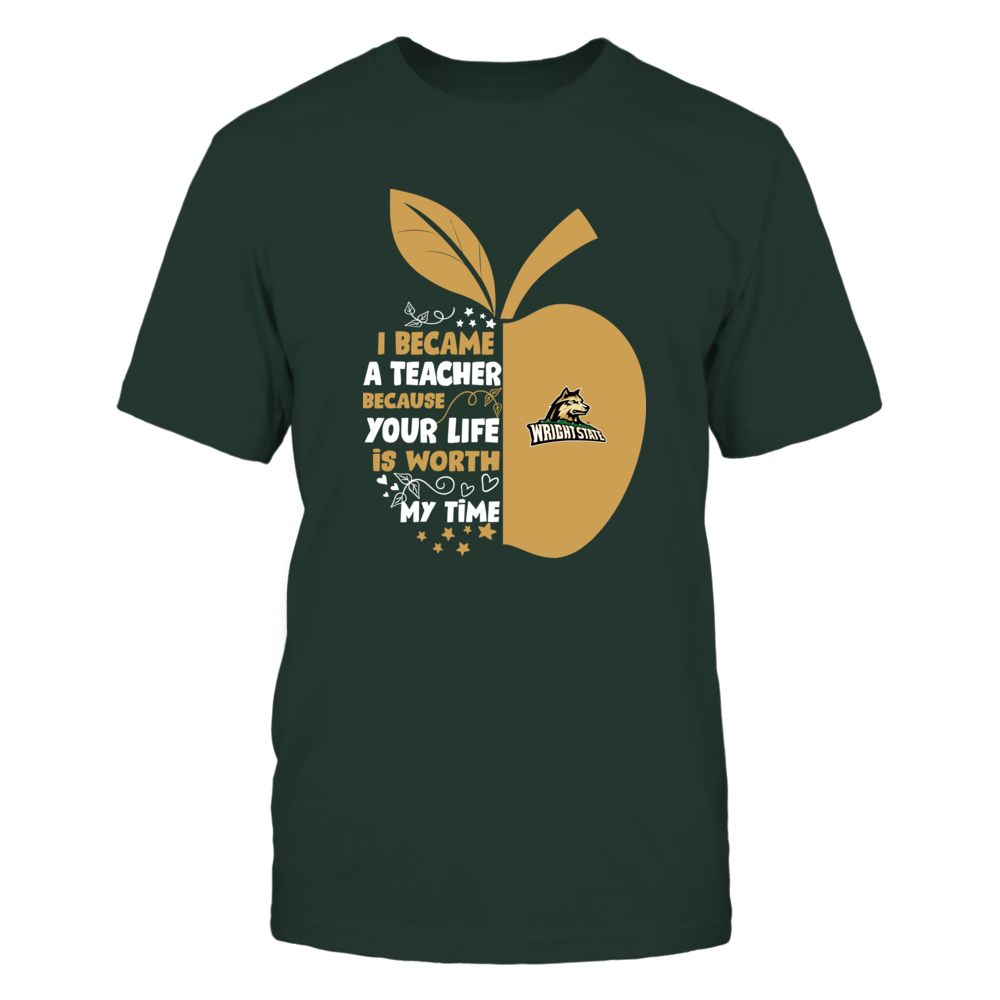 Wright State Raiders - I Became - Teacher - Team  - IF-IC32-DS83 Front picture