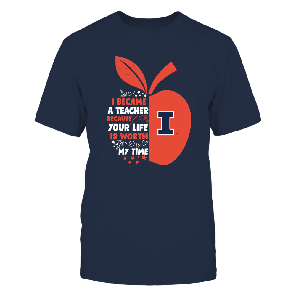 Illinois Fighting Illini - I Became - Teacher - Team  - IF-IC32-DS85 Front picture