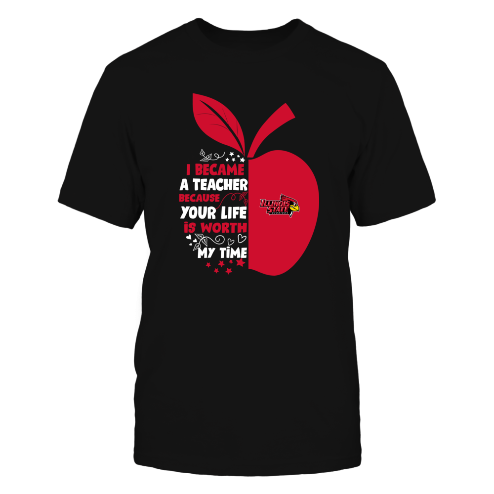 Illinois State Redbirds - I Became - Teacher - Team - IF-IC32-DS84 Front picture