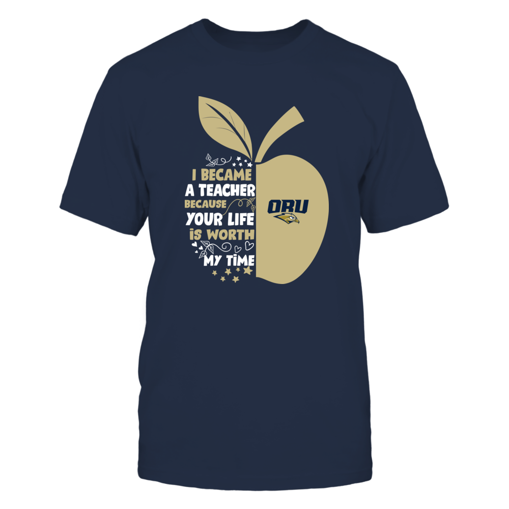 Oral Roberts Golden Eagles - I Became - Teacher - Team  - IF-IC32-DS64 Front picture
