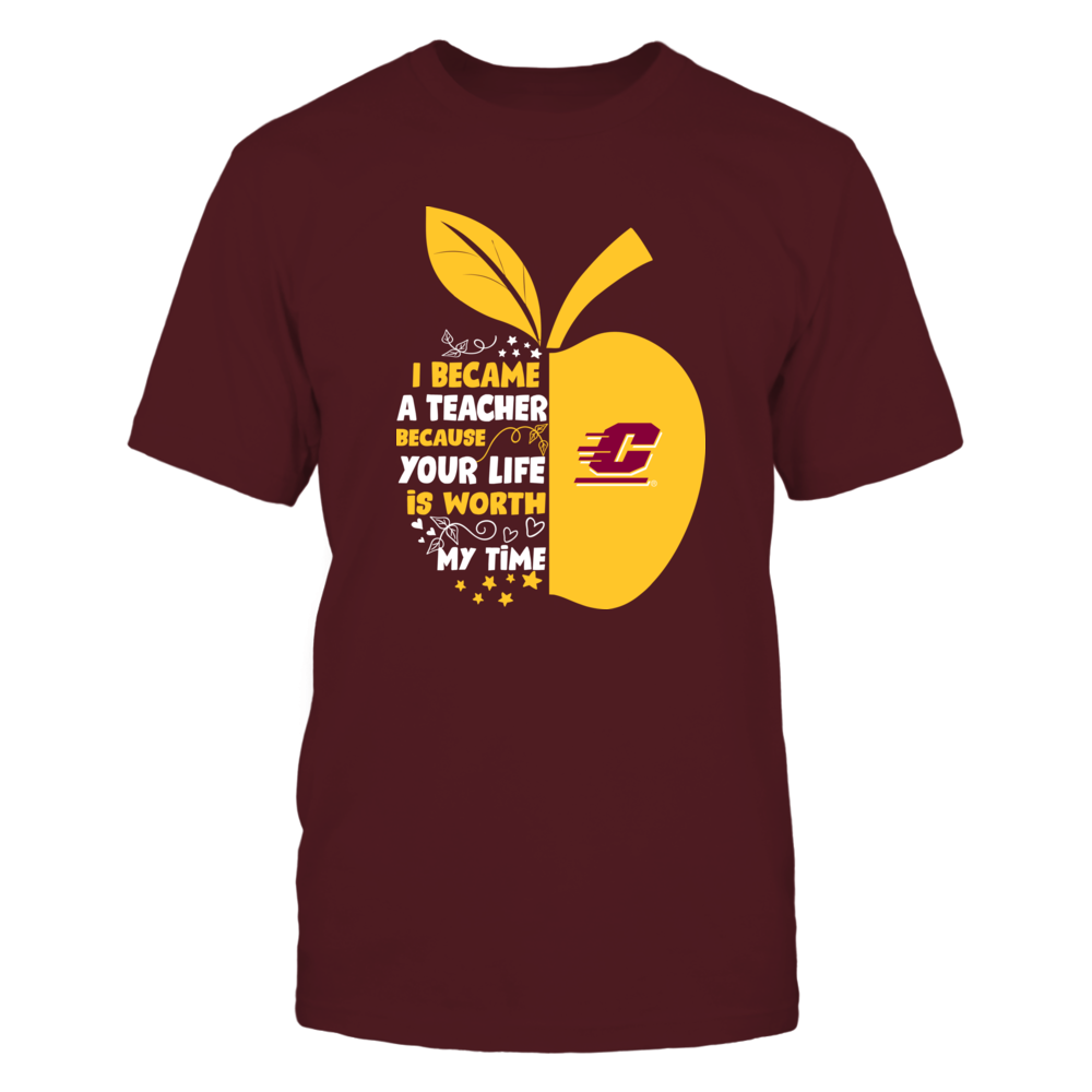 Central Michigan Chippewas - I Became - Teacher - Team - IF-IC32-DS45 Front picture