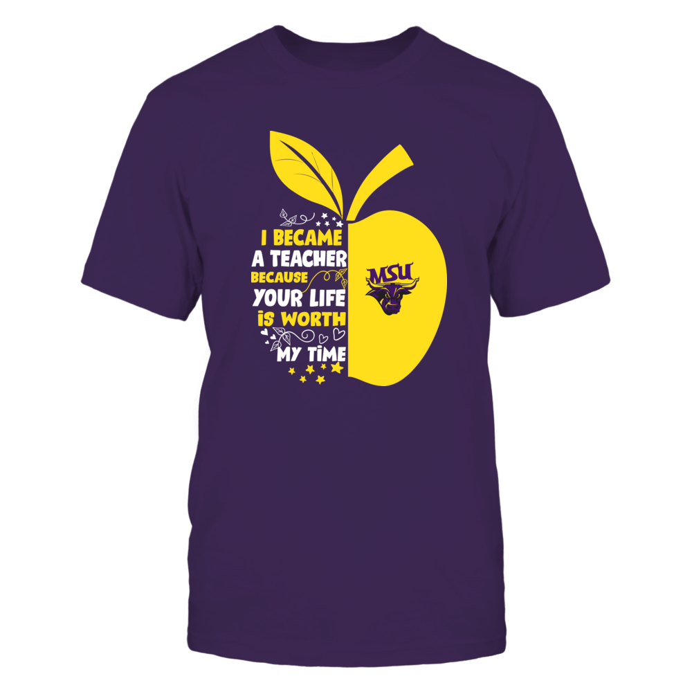 Minnesota State Mavericks - I Became - Teacher - Team  - IF-IC32-DS27 Front picture