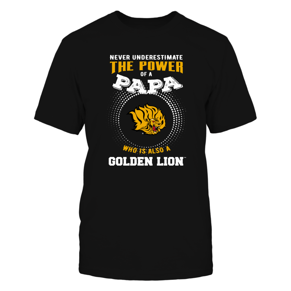 Arkansas Pine Bluff Golden Lions - Never Underestimate the Power of Papa Front picture