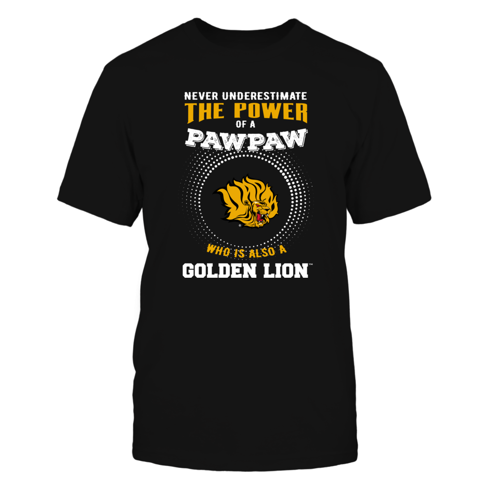 Arkansas Pine Bluff Golden Lions - Never Underestimate the Power of Pawpaw Front picture