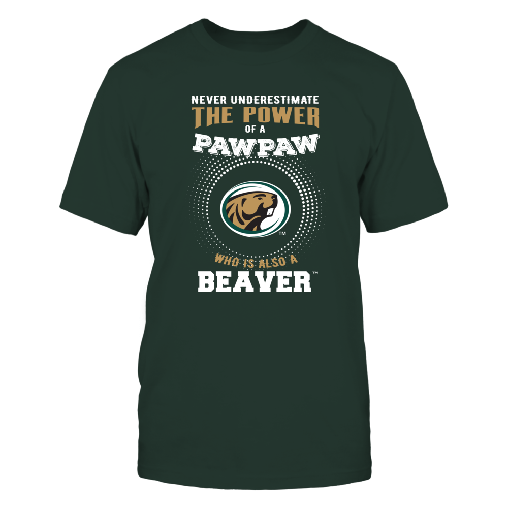 Bemidji State Beavers - Never Underestimate the Power of Pawpaw Front picture