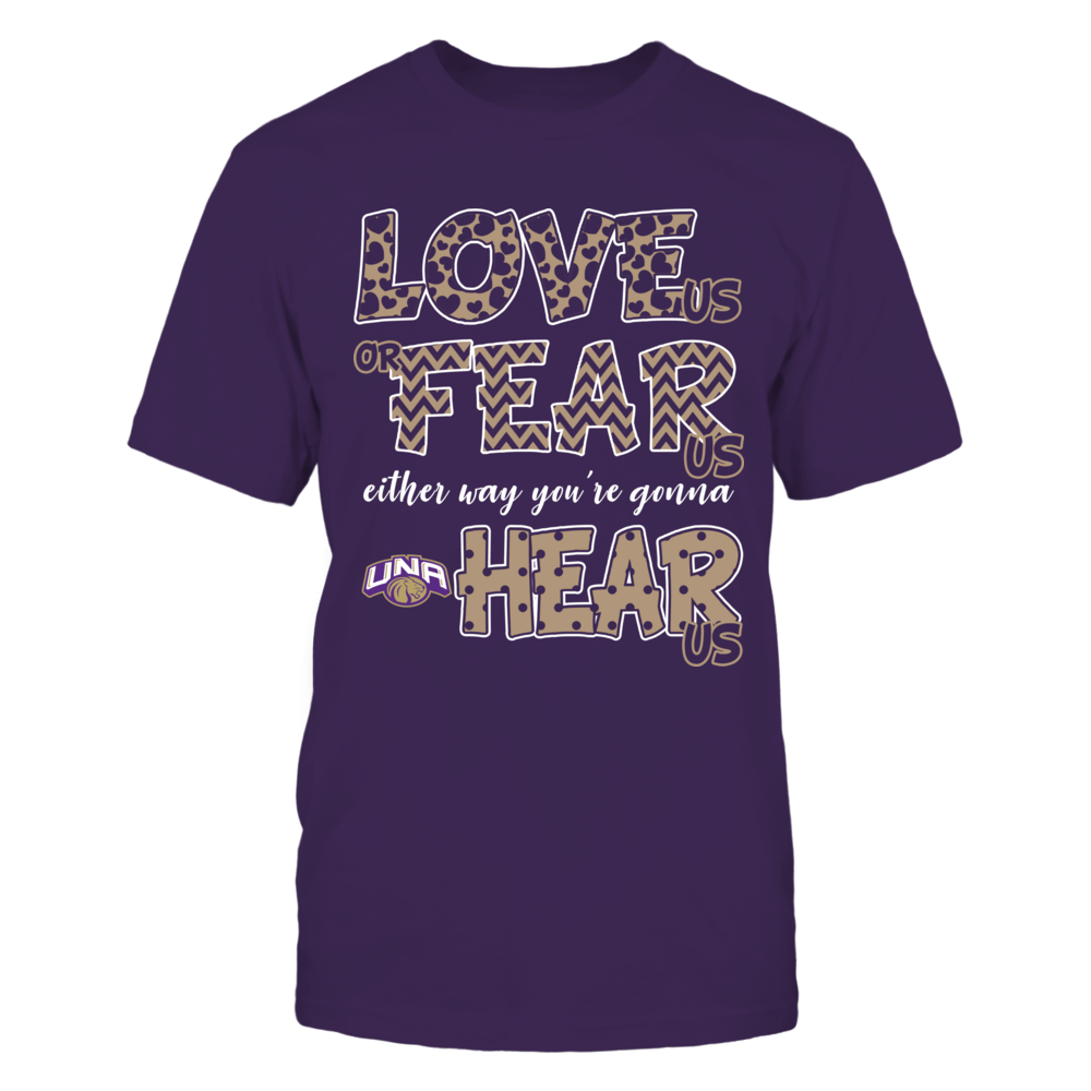 North Alabama Lions - Love Us, Fear Us, Hear Us Front picture