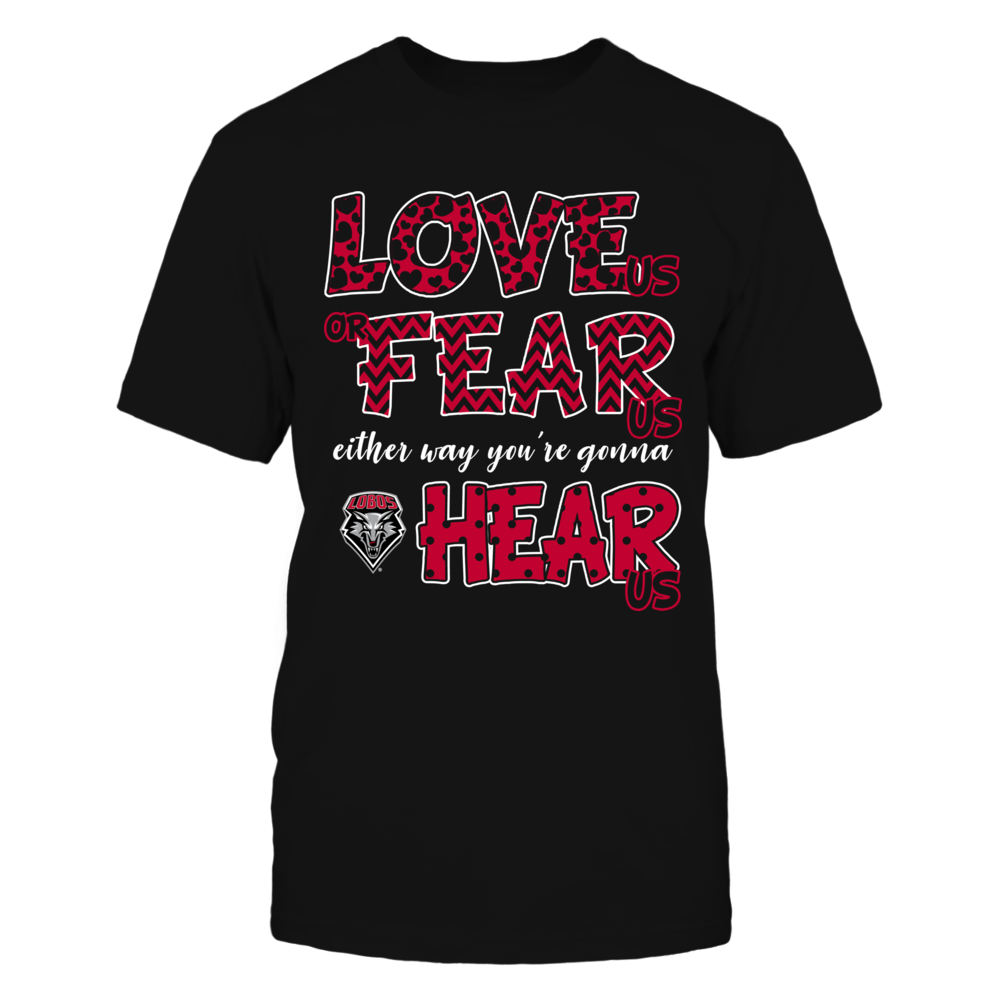 New Mexico Lobos - Love Us, Fear Us, Hear Us Front picture