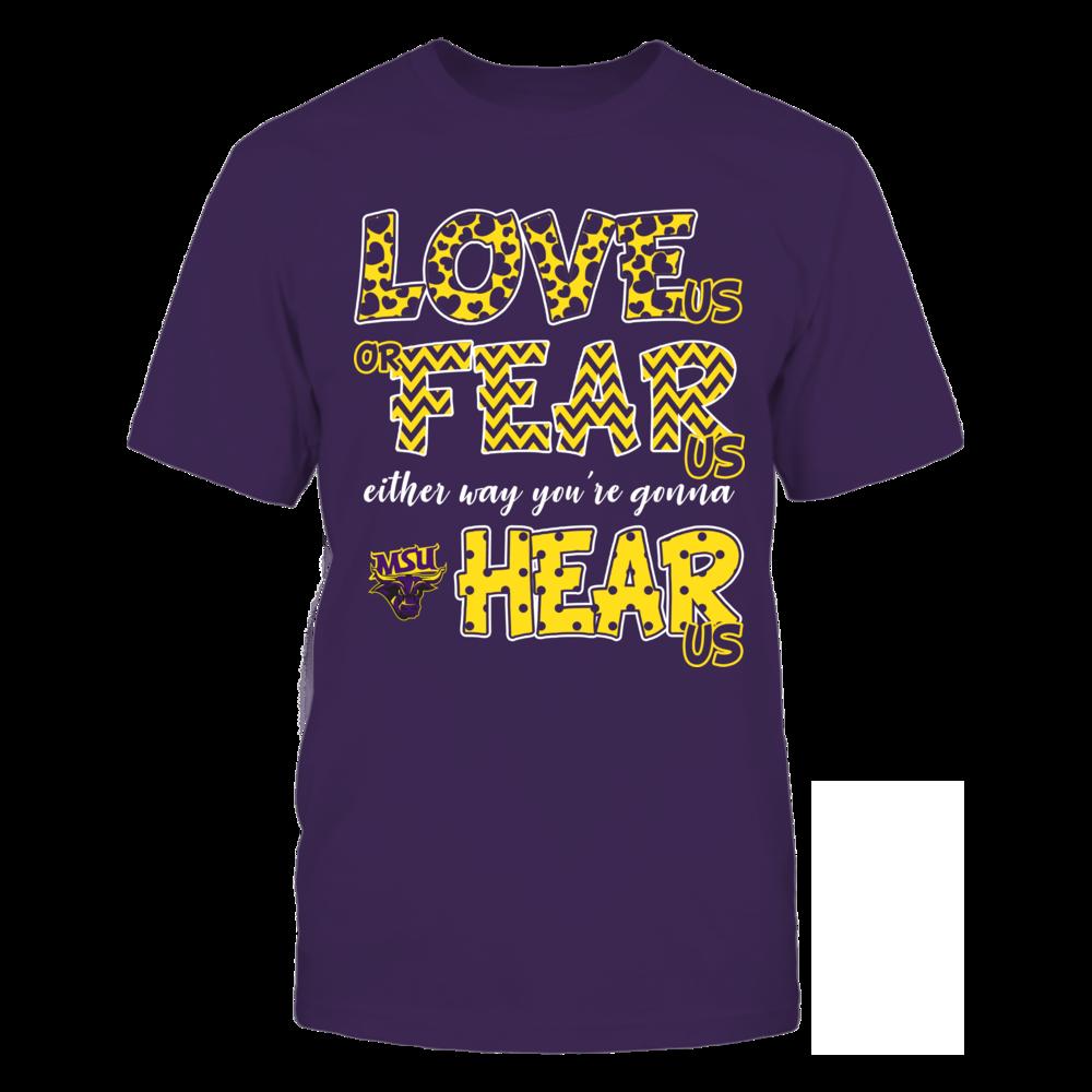 Minnesota State Mavericks - Love Us, Fear Us, Hear Us Front picture