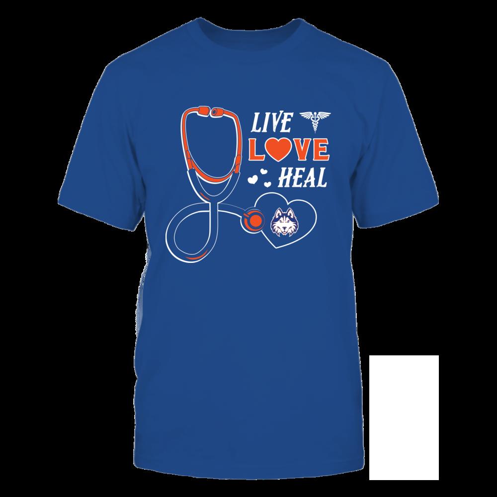 Houston Baptist Huskies - Live Love Heal - Team Front picture