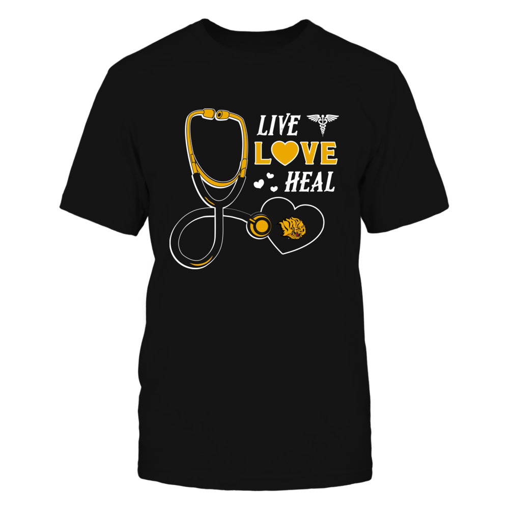 Arkansas Pine Bluff Golden Lions - Live Love Heal - Team Front picture
