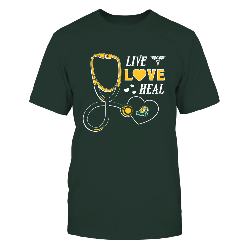Northern Michigan Wildcats - Live Love Heal - Team Front picture