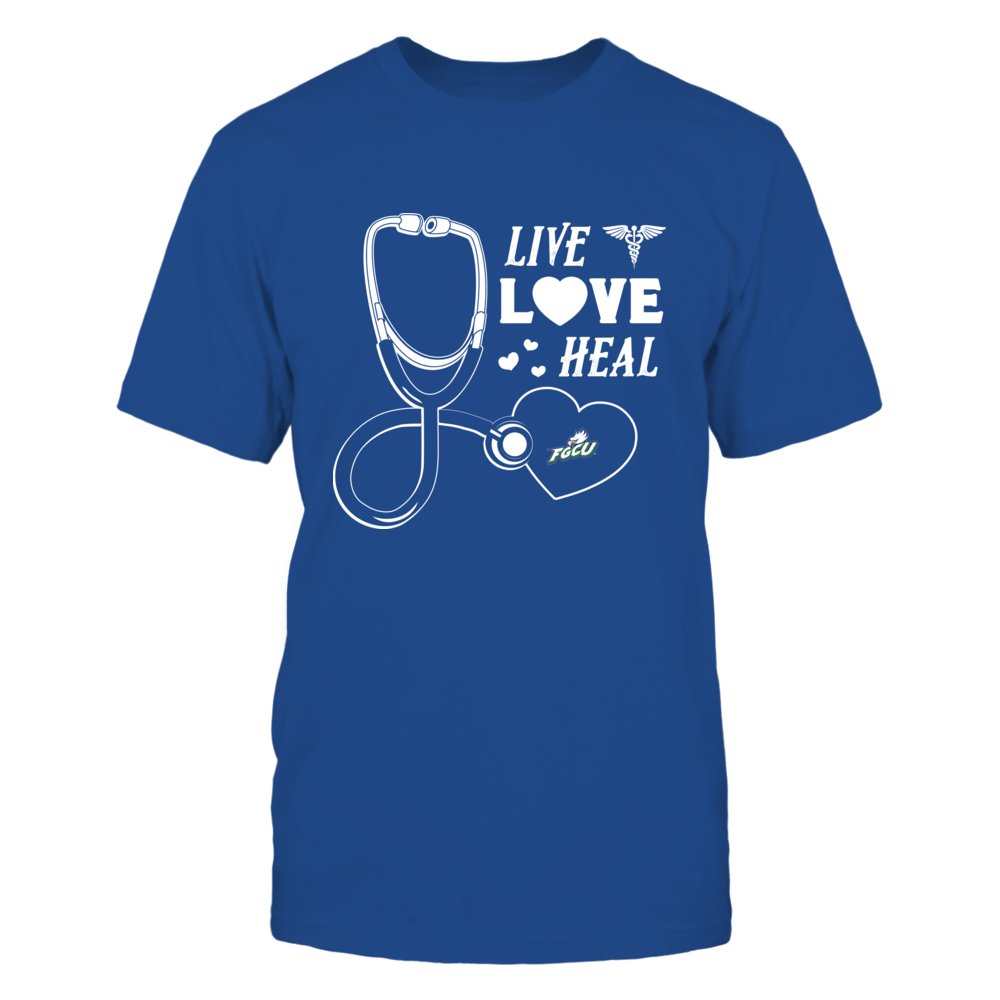 Florida Gulf Coast Eagles - Live Love Heal - Team Front picture