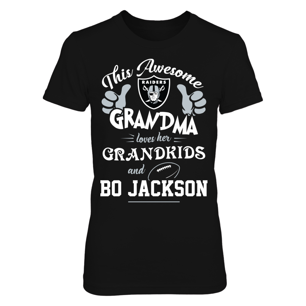 Oakland Raiders - Awesome grandma loves NFL Front picture