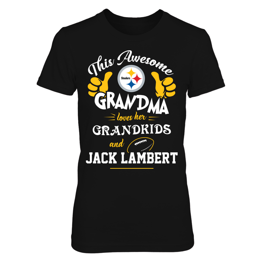 Pittsburgh Steelers - Awesome grandma loves NFL Front picture