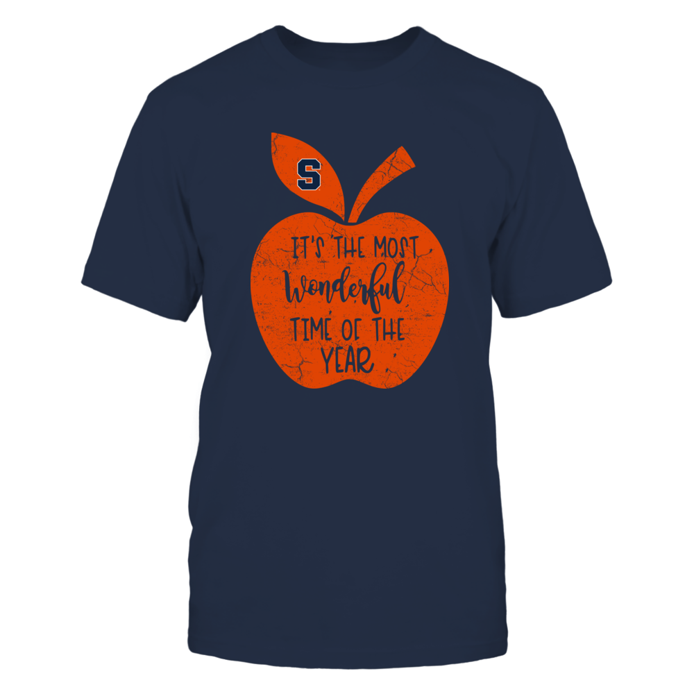 Syracuse Orange - Teacher - Most Wonderful Time Of The Year Front picture