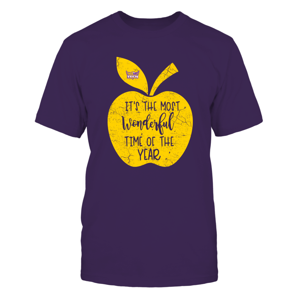 Tennessee Tech Golden Eagles - Teacher - Most Wonderful Time Of The Year Front picture