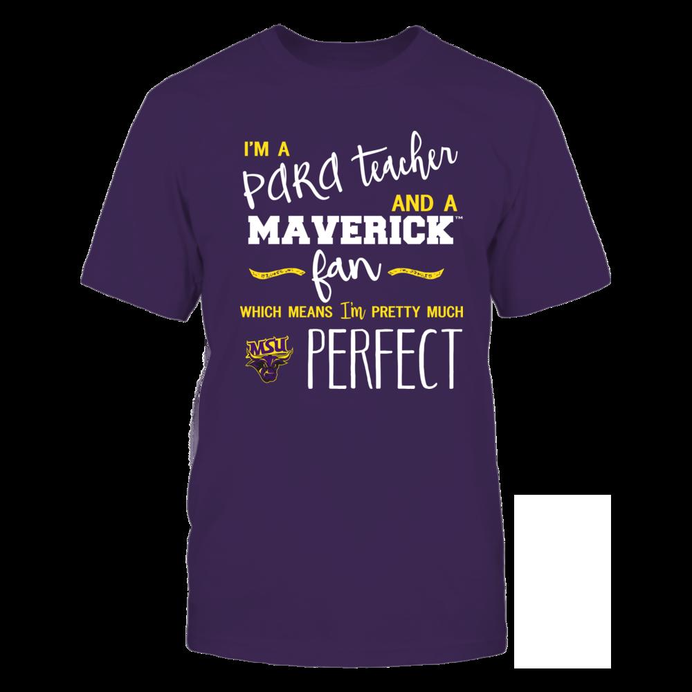 Minnesota State Mavericks - Perfect PARA Teacher - Team Front picture