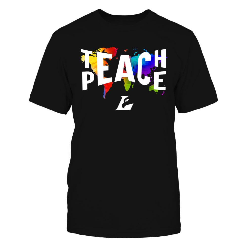 Wisconsin-La Crosse Eagles - Teach Peace Color Drop Front picture