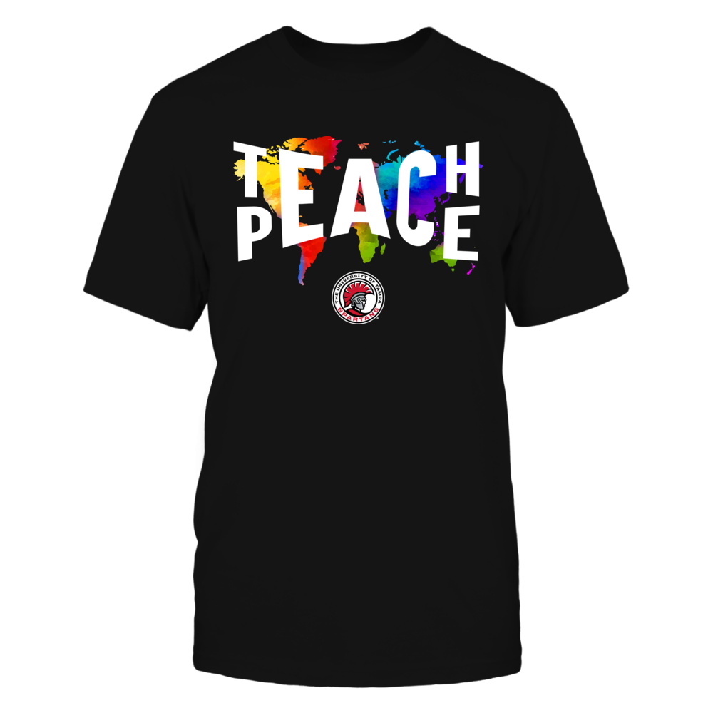 Tampa Spartans - Teach Peace Color Drop Front picture
