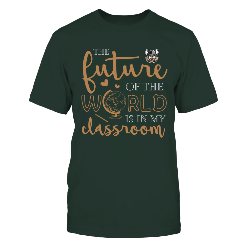 Cleveland State Vikings - Teacher - The Future Of The World Is In My Classroom Front picture