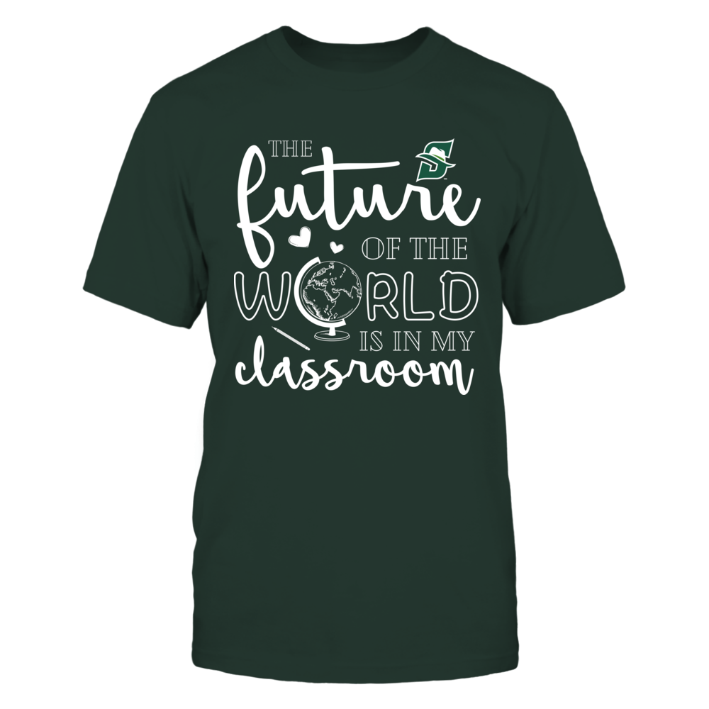 Stetson Hatters - Teacher - The Future Of The World Is In My Classroom Front picture