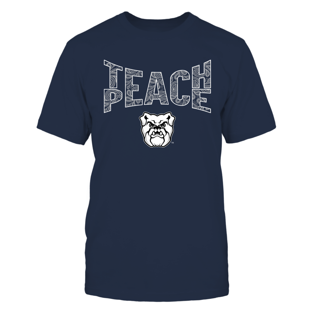 Butler Bulldogs - Teach Peace Paisley Pattern Front picture