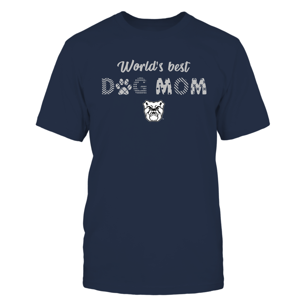 Butler Bulldogs - World Best Dog Mom - Pattern Front picture