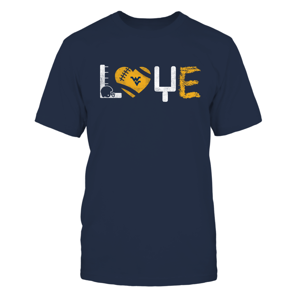 West Virginia Mountaineers - Love - Football Things - IF32-IC32-DS45 Front picture