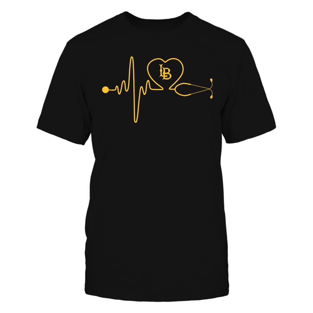 Long Beach State 49ers - Nurse - Stethoscope Heartbeat - IF13-IC13-DS37 Front picture