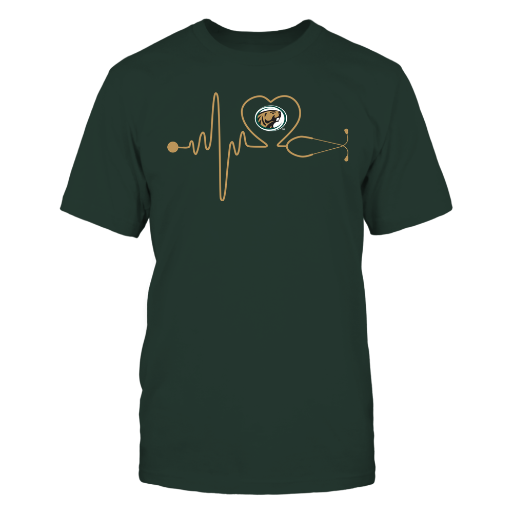 Bemidji State Beavers - Nurse - Stethoscope Heartbeat - IF13-IC13-DS37 Front picture